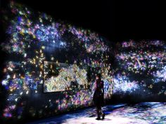 Japanese art collective teamLab take over Saatchi Gallery with their interactive installation for START Art Fair.