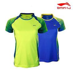 34.12$  Buy here - https://alitems.com/g/1e8d114494b01f4c715516525dc3e8/?i=5&ulp=https%3A%2F%2Fwww.aliexpress.com%2Fitem%2F2015-Summer-New-Women-Badminton-Tennis-Shirts-Authentic-Lining-Ladies-Badminton-Professional-Sportwear-Quick-Dry-Tshirt%2F32355027289.html - 2015  Summer New Women Badminton Tennis Shirts Authentic Lining Ladies Badminton Professional  Quick Dry T-shirt AAYK042