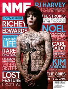 Get your digital subscription/issue of NME-February 2015 Magazine on Magzter and enjoy reading the magazine on iPad, iPhone, Android devices and the web. Carl Barat, Richey Edwards, Kim Gordon, The Strokes, Music Magazines, Rare Photos, Rolling Stones, New Books, Rock And Roll
