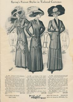 Clearly Vintage: 1910 New York Styles