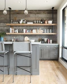 modern kitchen design ideas 43 ⋆ All About Home Decor Rustic Kitchen, New Kitchen, Kitchen Decor, Kitchen Ideas, Awesome Kitchen, Industrial Style Kitchen, Pantry Ideas, Kitchen Modern, Kitchen Pantry