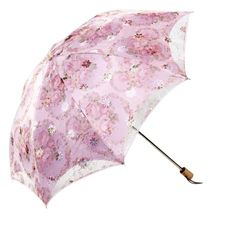 Creative Embroidery Double Layer Parasol UV Block Protection Lace Umbrella for Lady
