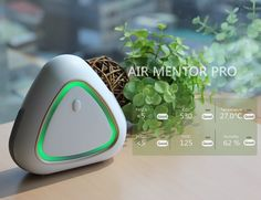 The intuitive and easy to use Air Mentor app clearly displays the air quality summary index with a numerical value so you know just how clean the air in your home is in real time.