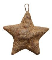 Grunged star ornament...