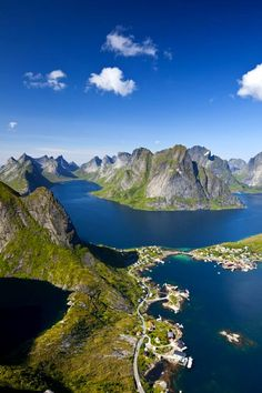 The Scandinavian Fishing Village From Your Dreams,Norway.