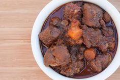 NOTE: An updated version of this recipe appears in my cookbook, The Ancestral Table. A tagine is a type of slow-cooked Moroccan stew, which gets it name from the pot it is usually cooked in, also n…