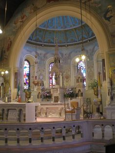 The magnificent Church of the Most Holy Rosary, Abbeyleix, Co. Laois, Eire.