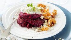 Broileria ja punajuuripihvejä - K-ruoka