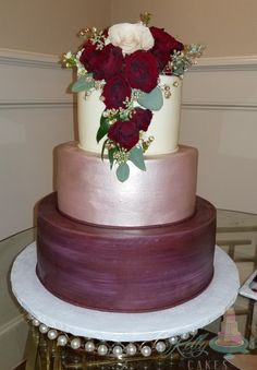 """Custom """"cottage foods"""" cake studio offering one on one planning, delicious flavors, and amazing designs. Wilton, Buttercream Wedding Cake, Fondant, Cake Recipes, Wedding Cakes, Weddings, Desserts, Food, Decorating Cakes"""