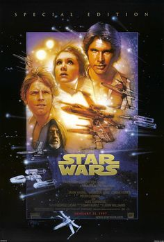 My favorite Drew Struzan poster from the Star Wars Special Edition release