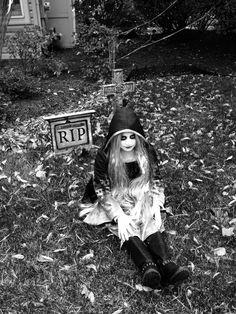 The Soul Stealer  2015 Gianna Rodriguez  Halloween makeup & design by Vanessa Busti