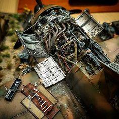 Focke-Wulf by Arno Mosimann Scale Models, Metal Models, Plastic Model Kits, Plastic Models, Spitfire Supermarine, Warhammer 40000, Focke Wulf 190, Modeling Techniques, Model Hobbies