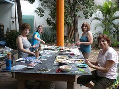 Hacienda Mosaico, Mexico ~ Mosaic Workshops!