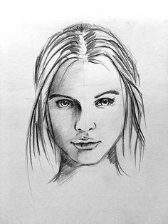 Bleistiftzeichnung 10/2016 (Pencil Drawing) www.michael-franz-art.de