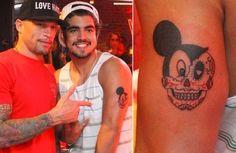 tatuagem do mickey - Pesquisa Google