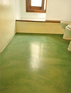 Piso de microcemento color beige pisos y paredes de microcemento pinterest colors - Paredes de microcemento ...