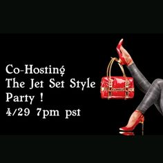 Posh party time !  Co hosting the jet set style party 4/29 7pm. Hope to see you there! Jet set style  Other