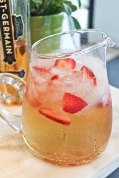 #Recipe: Elderflower Champagne Cocktail