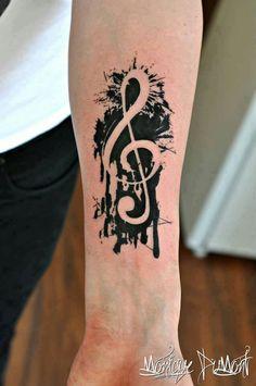 #music #inked #arm #tat #tattoo