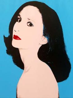Nancy Nasher by Andy Warhol, 1980.