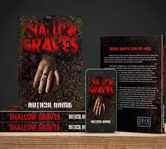 Shallow Graves predesigned book cover now available for purchase as an ebook or full book wrap. Visit our website to purchase this one of a kind pre-designed cover or contact us for our other services!  Pre-designed covers from $40-$60! Custom Ebook Covers for $50 Custom full book wrap for $100  http://ift.tt/2mwJs68 ..................................................... #bookcovers #indiebooks  #custombook #ebooks #ebookcoverdesign #ebookcover #graphicdesigner #ilovebooks  #bookcoversforsale…