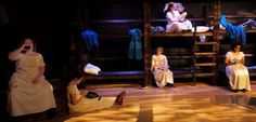 """""""The time of women is coming."""" Uttered by a character early on in Corrib Theatre's production of Belfast Girls, it soun Theatre Reviews, Belfast, Kansas City, Wrestling, Girls, Projects, Toddler Girls, Log Projects, Daughters"""