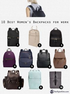 21e14e5eab24 10 Best Women s Backpacks for Work that are Sophisticated and Smart. Chic  BackpackBackpack ...