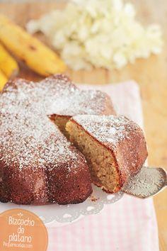 Bizcocho de plátano, una receta dulce que encanta Pan Dulce, Sweet Desserts, Dessert Recipes, Dessert Ideas, Deli Food, Incredible Edibles, Cakes And More, No Bake Cake, Amazing Cakes