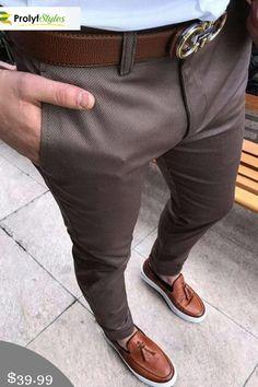 Slim Fit Dress Pants, Mens Dress Pants, Dress Trousers, Slim Fit Dresses, Men Dress, Men Pants, Mens Slim Fit Pants, Dress Shoes, Formal Men Outfit
