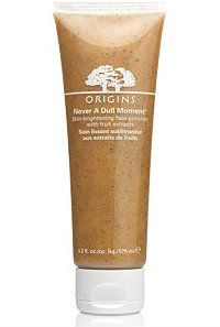Origins Never A Dull Moment papaya fruit enzyme face scrub/ mask for glowing skin.