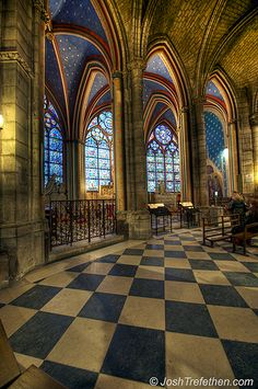 Sanctuary, Notre Dame, Paris