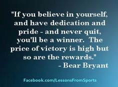 Sports Quotes - Visit our website at http://LessonsFromSports.com; Like us on Facebook at http://Facebook.com/LessonsFromSports; and join us on Twitter @lessonsSports