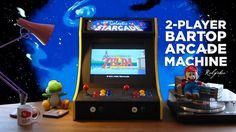 Picture of 2-Player Bartop Arcade Machine (Powered by Pi)