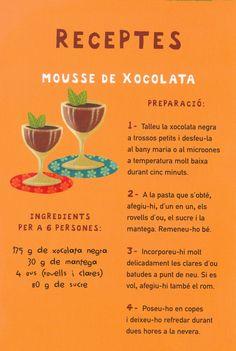Dolç estiu a #lavilajoiosa No ens podia faltar el xocolate a la #biblioteca Mousse [641 GIL xoc]