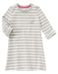 Striped Sweatshirt Dress at Gymboree
