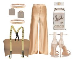 """""""She means business"""" by sheekshat on Polyvore featuring Etro, Chanel and Gianvito Rossi"""