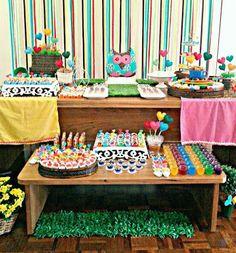tellastella / Tella S Tella : Festa infantil: Corações coloridos