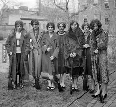 1925 Drexel Institute Girls' Rifle Team