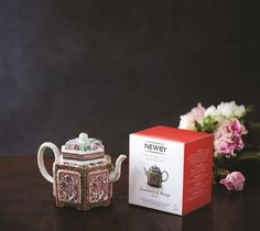 Newby Teas on Packaging of the World - Creative Package Design Gallery