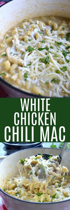 White Chicken Chili Mac