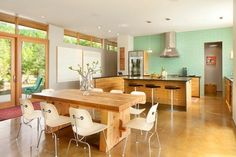 green wall color tiles businessmen kitchen ideas