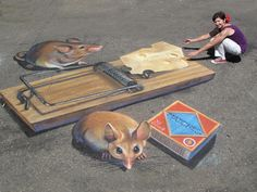 Chalk Art and Street Painting Gallery - Tracy Lee Stum Best Street Art, Amazing Street Art, 3d Street Art, Street Art Graffiti, 3d Sidewalk Art, 3d Street Painting, Pavement Art, 3d Chalk Art, Chalk Drawings