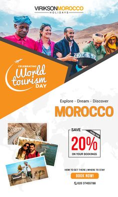 If you are searching for where to go in morocco for holidays in consult Virikson morocco travel guide. Visit morocco tourist places, attractions, sightseeing at cheap prices. Morocco Tourism, Morocco Travel, Explore Dream Discover, Tourism Day, Visit Morocco, Tourist Places, Where To Go, Travel Guide, Traveling By Yourself