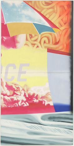 Painting by James Rosenquist.