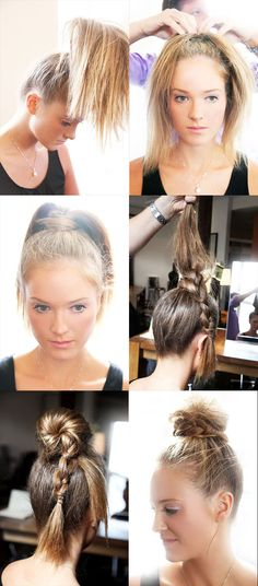 How-To: Topknot