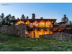 This Nederland, Co home is minutes from Boulder, CO and has views of Roosevelt National Forest. Listed for $2,850,000.