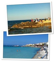 Os encantos das praias maltesas.