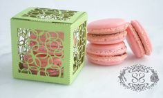 Wedding Favors Macaron Favor Circles by SplendidSweetShoppe, $6.00