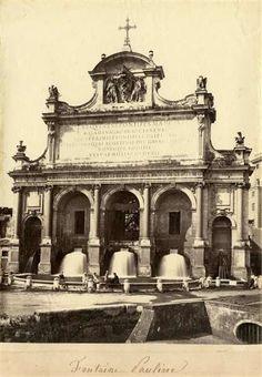 1860/65 Molins Pompeo (attr.) Fontanone dell' acqua Paola.