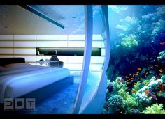 wow this underwater hotel is crazy cool.
